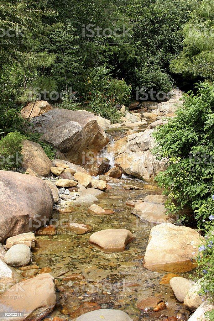 Rocky Creek royalty-free stock photo