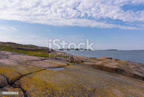 Rocky Island Stock Photo & More Pictures of Day