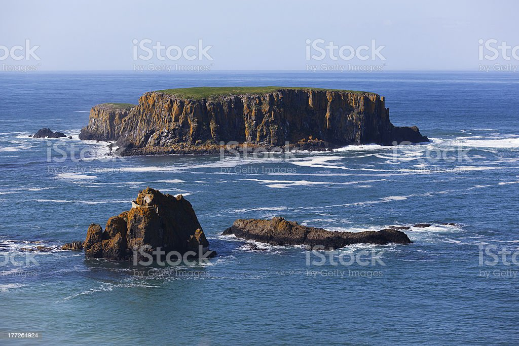 Rocky islands stock photo