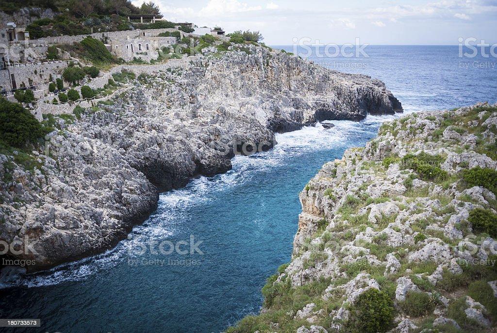Rocky Italian Landscape royalty-free stock photo