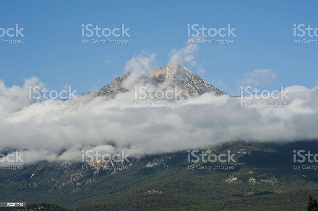 Rocky Mountain, Banff National Park royalty-free stock photo