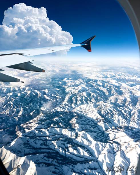 Felsiger Berg von oben – Foto
