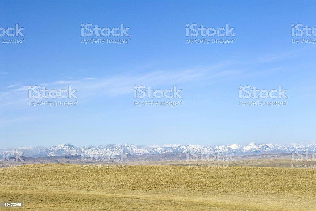 Frente de las Montañas Rocosas foto de stock libre de derechos