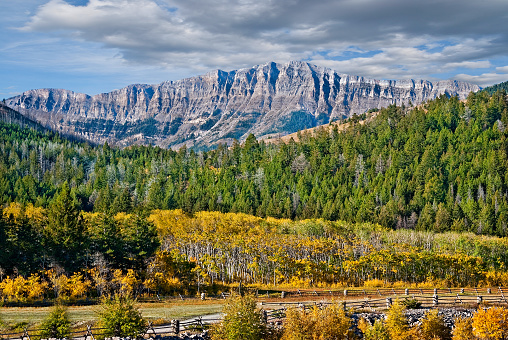 Rocky Mountain Front Range in the Fall