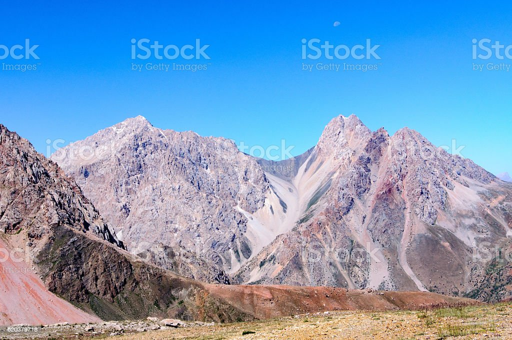 rocky mountain gorge foto de stock royalty-free