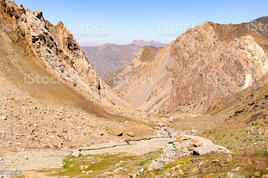 rocky mountain gorge foto de stock royalty-free