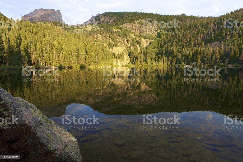 Altezza delle Montagne Rocciose foto stock royalty-free