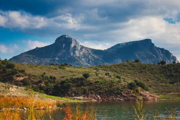 Rocky mountain landscape above a serene lake at zahara de la sierra picture id1094987236?b=1&k=6&m=1094987236&s=612x612&w=0&h=sdr3qtiacrpmfqvrptcz1nenpkdcfayydtpoxpt1z30=