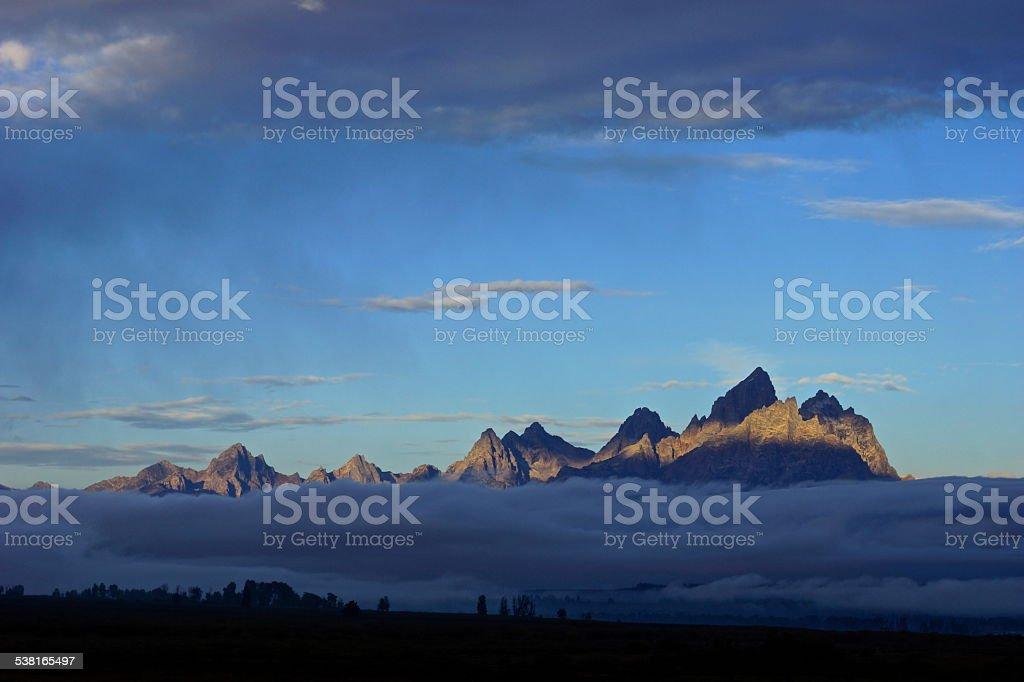Rocky Mountain Mystic stock photo