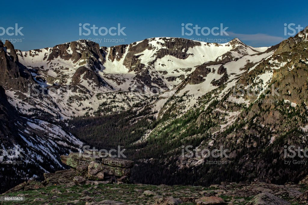 Rocky Mountain National Park, Colorado, USA stock photo