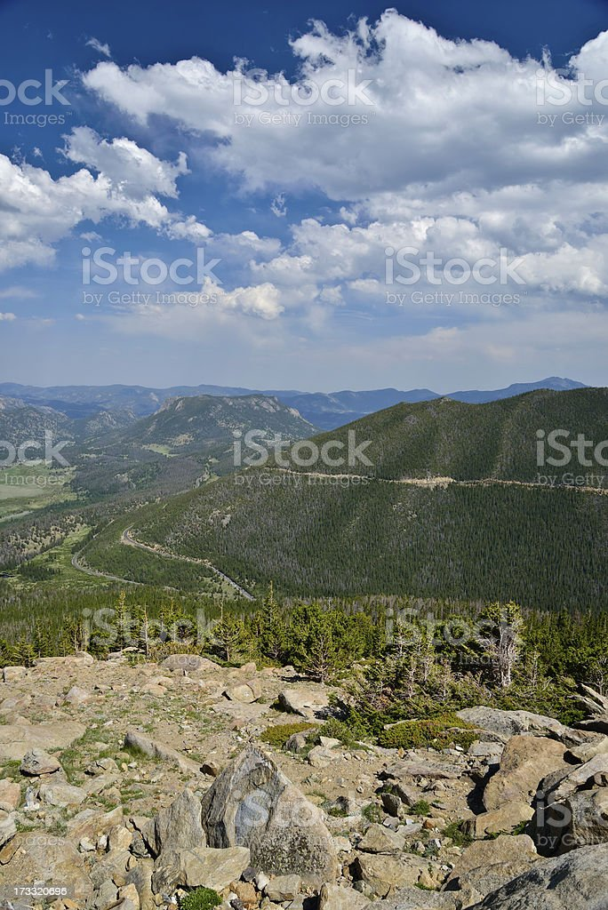 Rocky Mountain National Park royalty-free stock photo