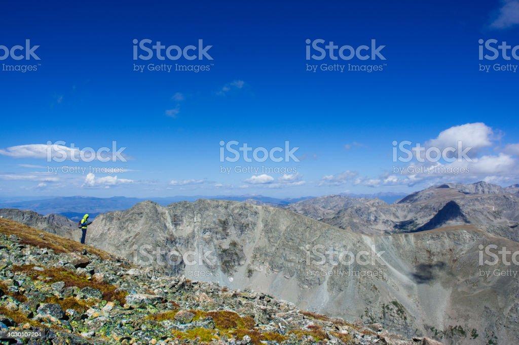 洛基山國家公園-夏天風景圖像檔