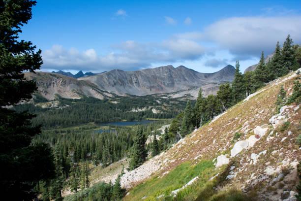 Rocky Mountain National Park - Summer Landscape stock photo