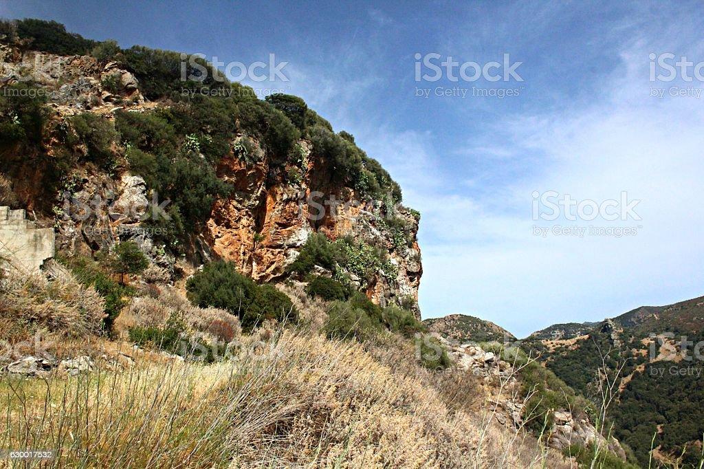 Rocky Mountain Side stock photo