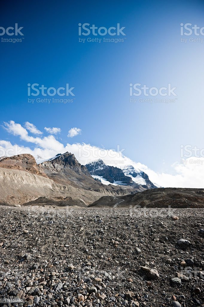Rocky Mountains Alberta Canada royalty-free stock photo
