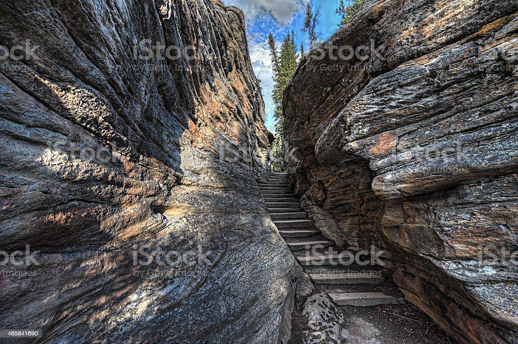 Rocky Mountains, British Columbia, Canada. stock photo