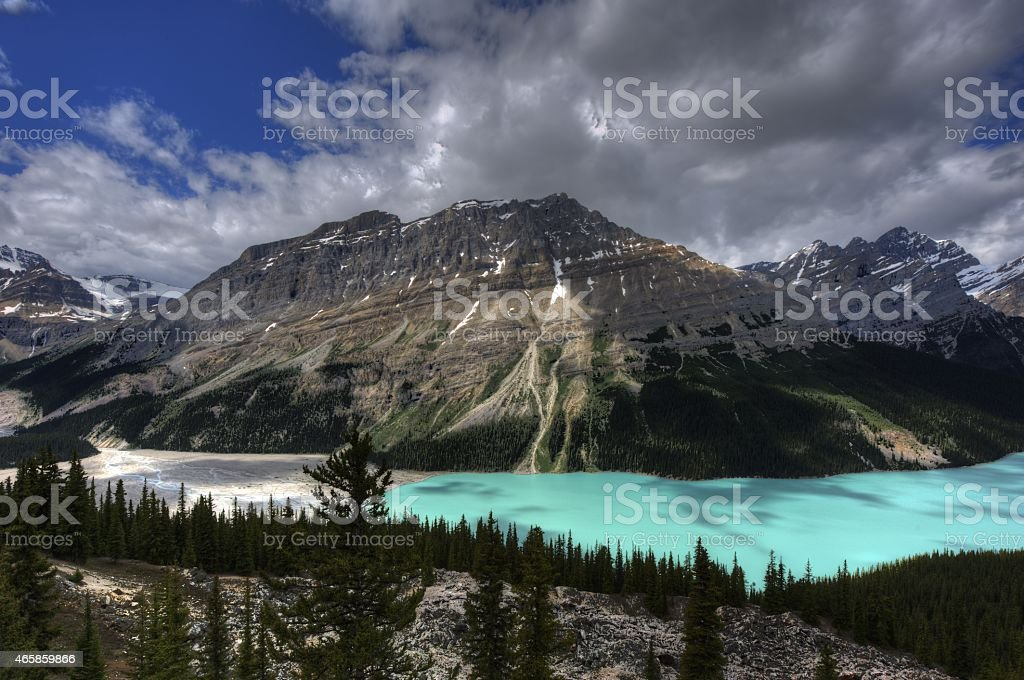 Rocky Mountains, British Columbia, Canada. stock photo