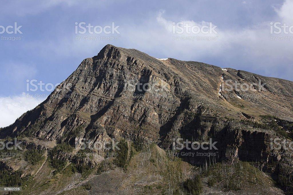 Rocky Mountains, Canada royalty-free stock photo