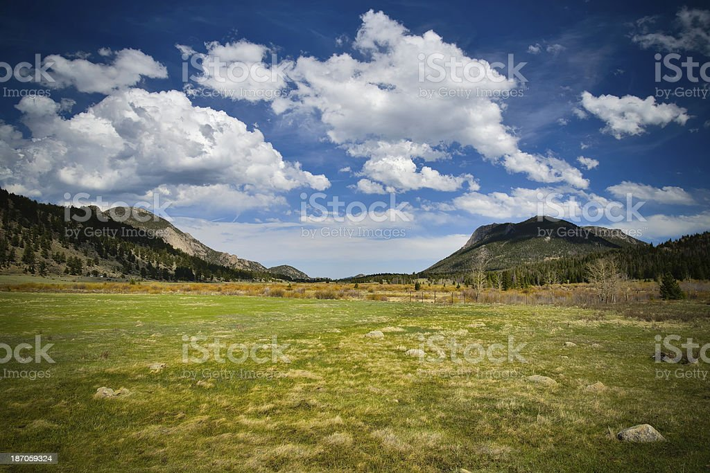 Rocky Mountains, Colorado royalty-free stock photo