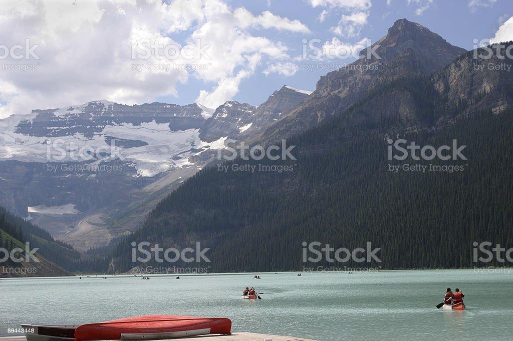 Rocky Mountains, Lake Louise, Canada royalty-free stock photo