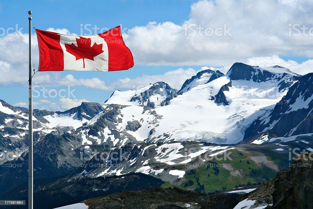 Montañas rocosas - foto de stock