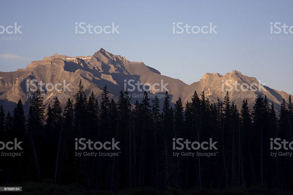 Rocky Mountains royalty-free stock photo