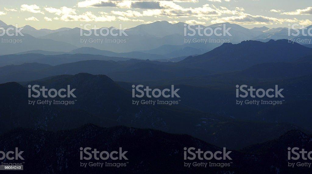 Rocky montagne foto stock royalty-free