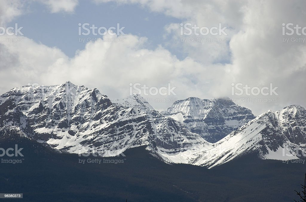 Rocky montagne foto stock royalty-free