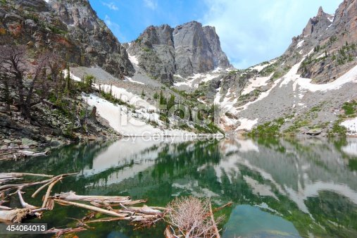 Rocky Mountain National Park in Colorado, USA. Emerald Lake view.