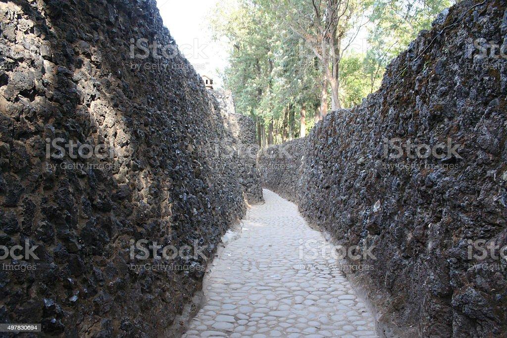 Rocky Pathway stock photo