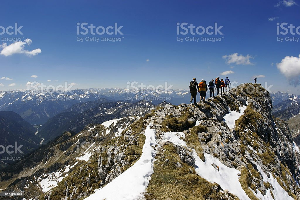 Rocky Ridge royalty-free stock photo