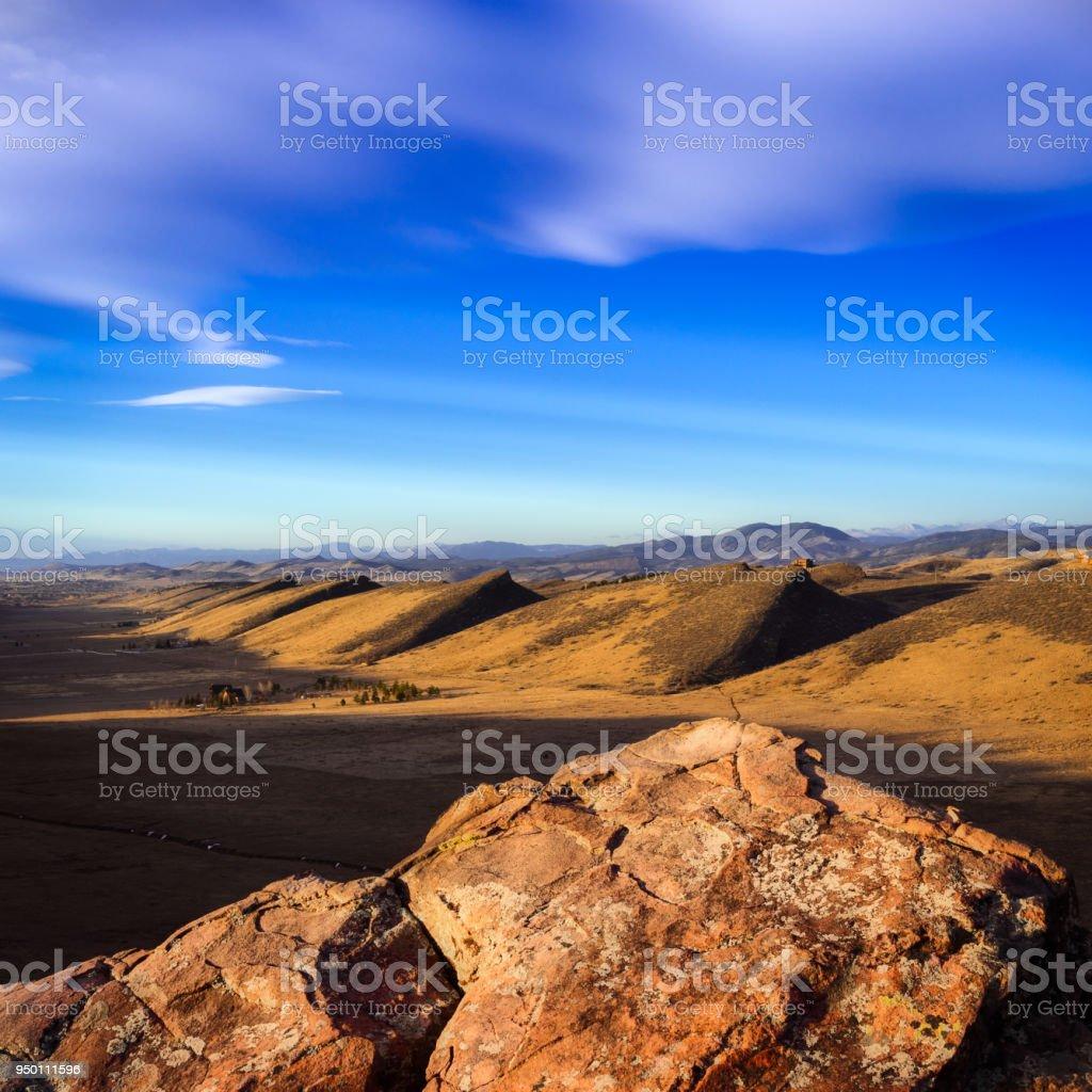 Rocky Ridge stock photo