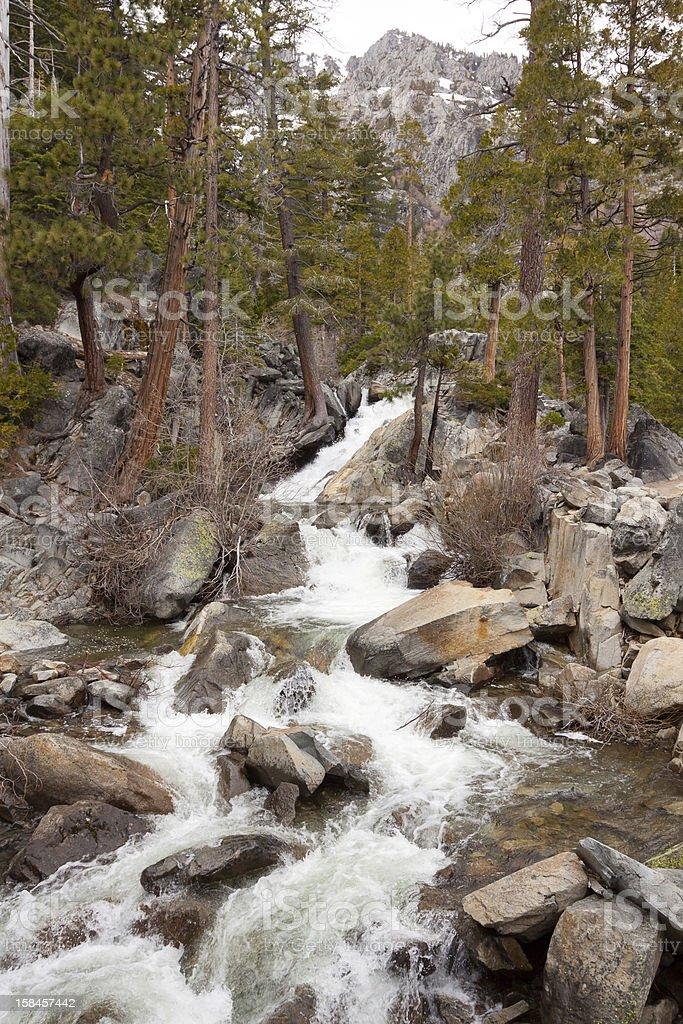 Rocky River Flow stock photo
