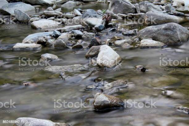 Photo of rocky river