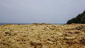 Rocky Sand Texture Focus