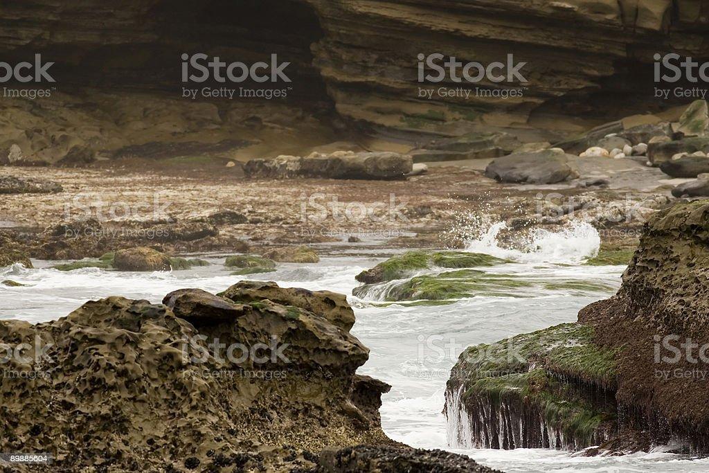 Rocky  Sea Shores royalty-free stock photo