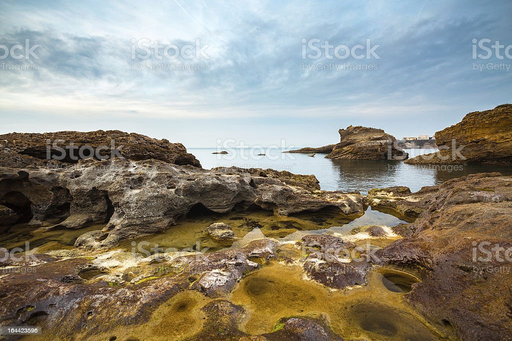 Rocky Seascape royalty-free stock photo
