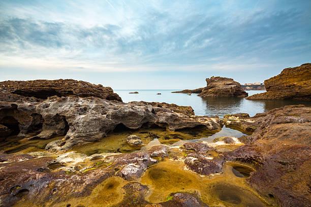 Rocky paisaje marino - foto de stock