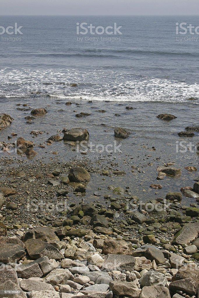 Rocky Seashore royalty-free stock photo
