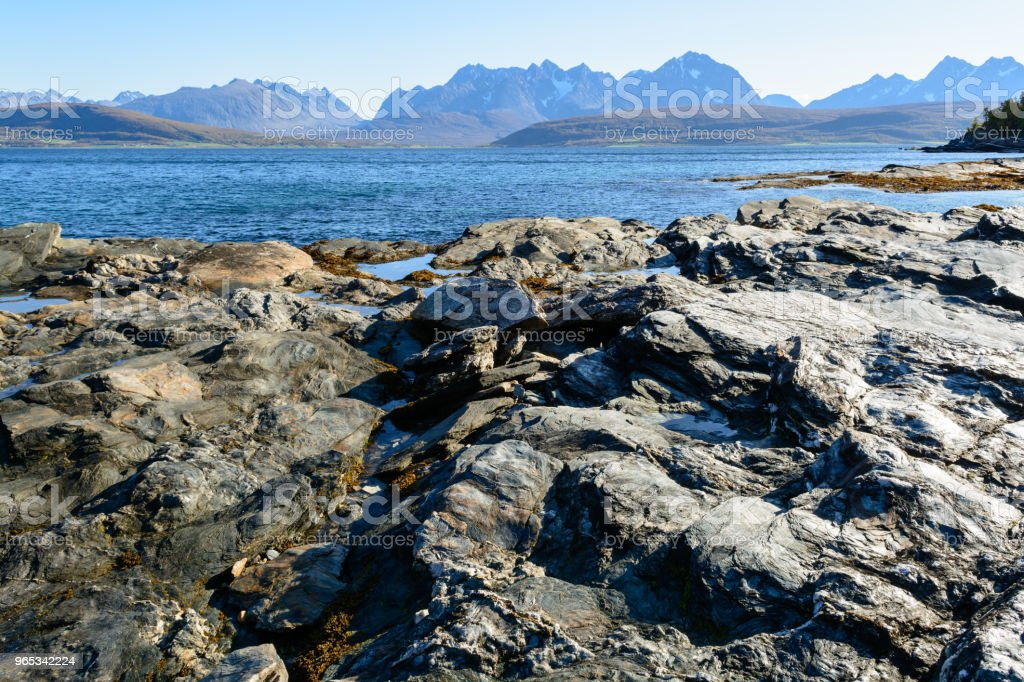 Rocky shore zbiór zdjęć royalty-free
