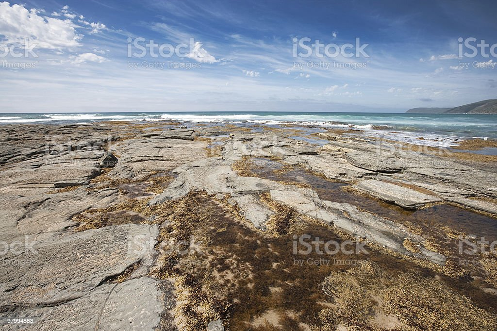 Rocky Shore royalty-free stock photo