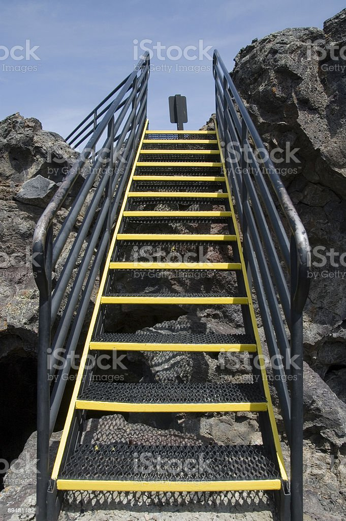 Rocky Stairs royalty-free stock photo