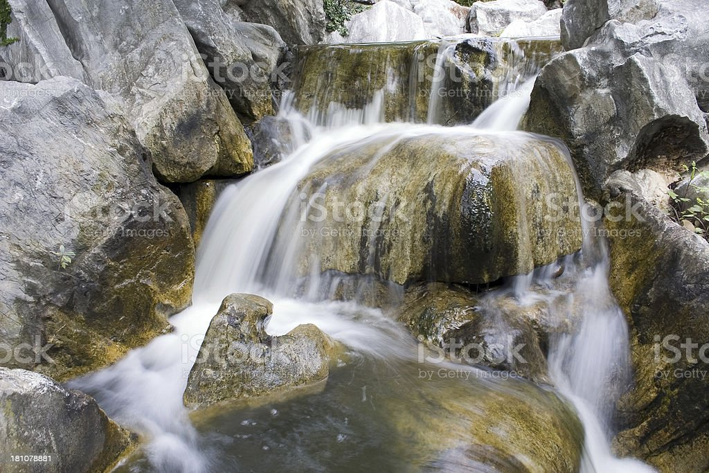 Rocky Waterfall royalty-free stock photo