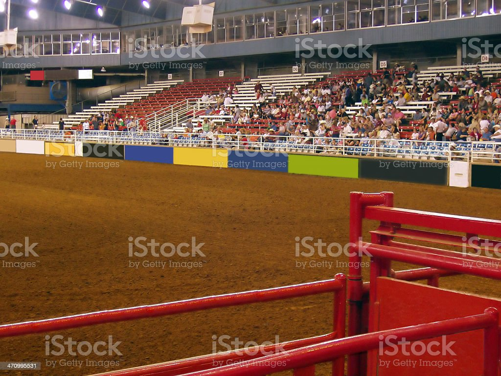 Rodeo Arena royalty-free stock photo