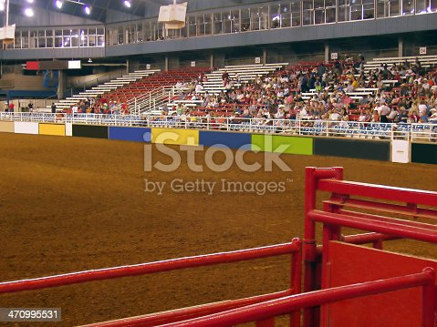 Rodeo arena in TX<br>