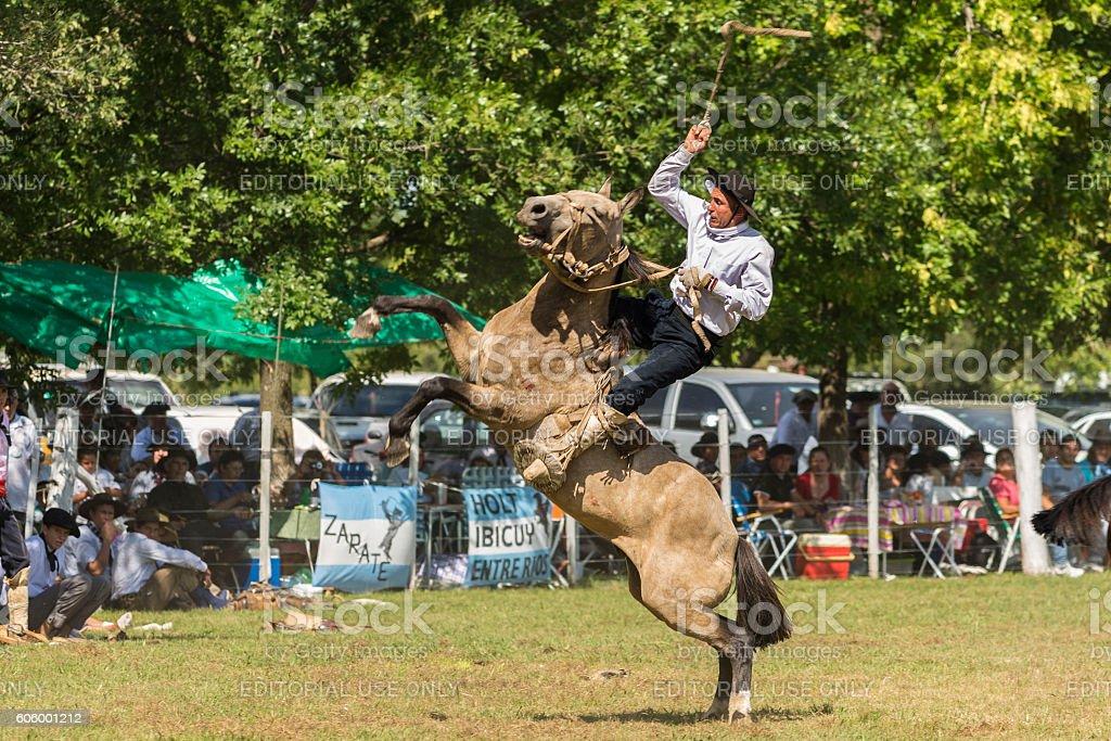 Rodeo, Baradero, Argentina stock photo