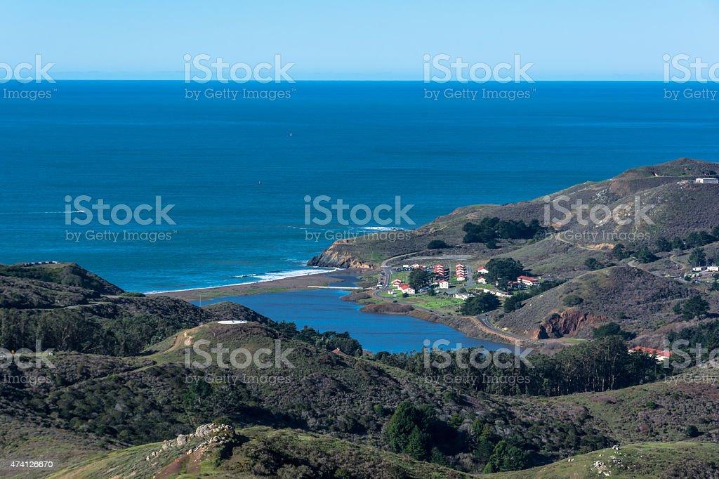 Rodeo Beach, California stock photo