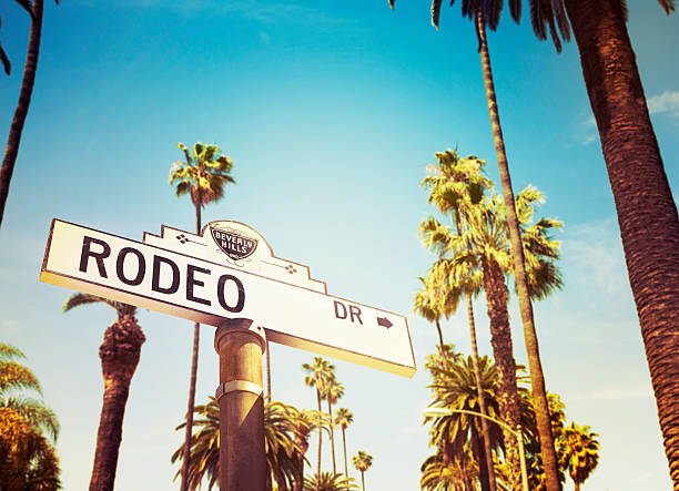 Rodeo Drive Beverly Hills stock photo