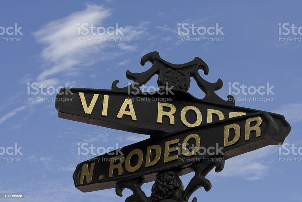 Rodeo Drive stock photo