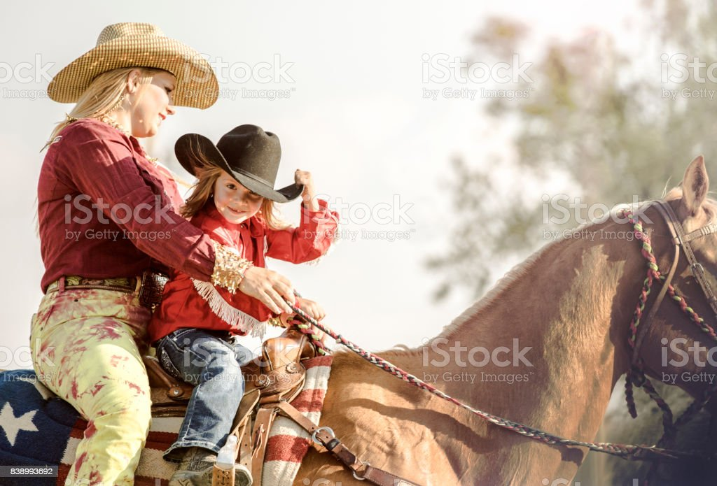 Rodeo fille - Photo